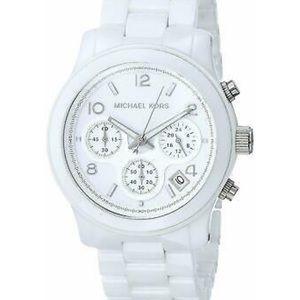 Micheal Kors White Ceramic Watch